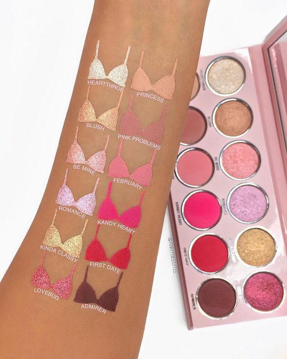 MAQ00018 Paleta de sombras 12 tonos Kylie makeup mayorista fabricantes proveedor fabrica maquillaje